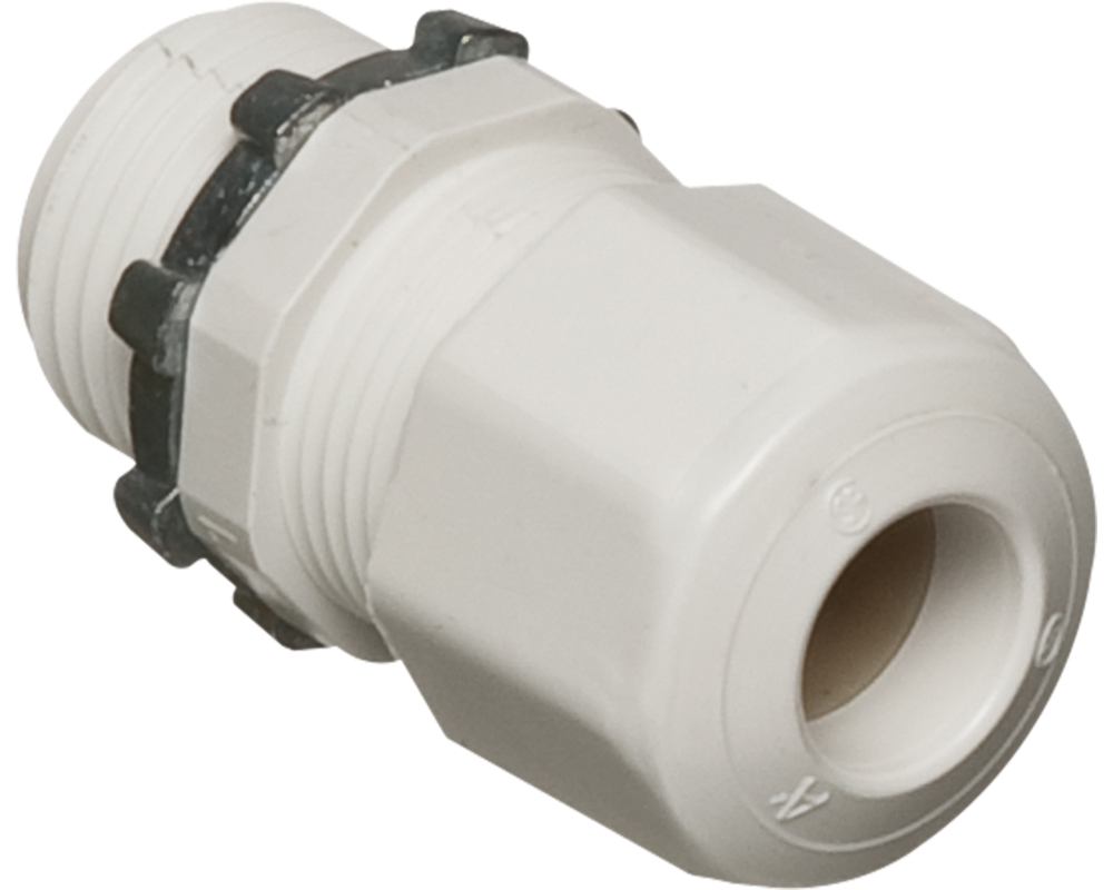 LPCG757W Low Profile Strain Relief Non-Metallic Cord C...
