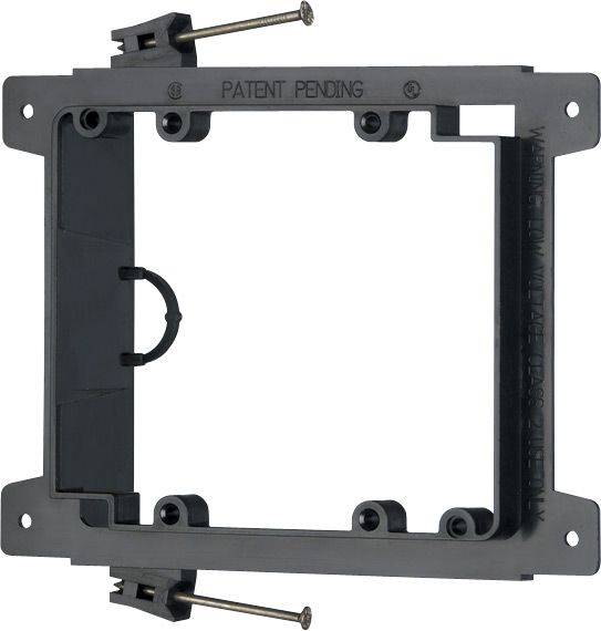 ARLINGTON LVN2 2GANG NAIL ON LOW VOLTAGE DEVICE MOUNTING BRACKET
