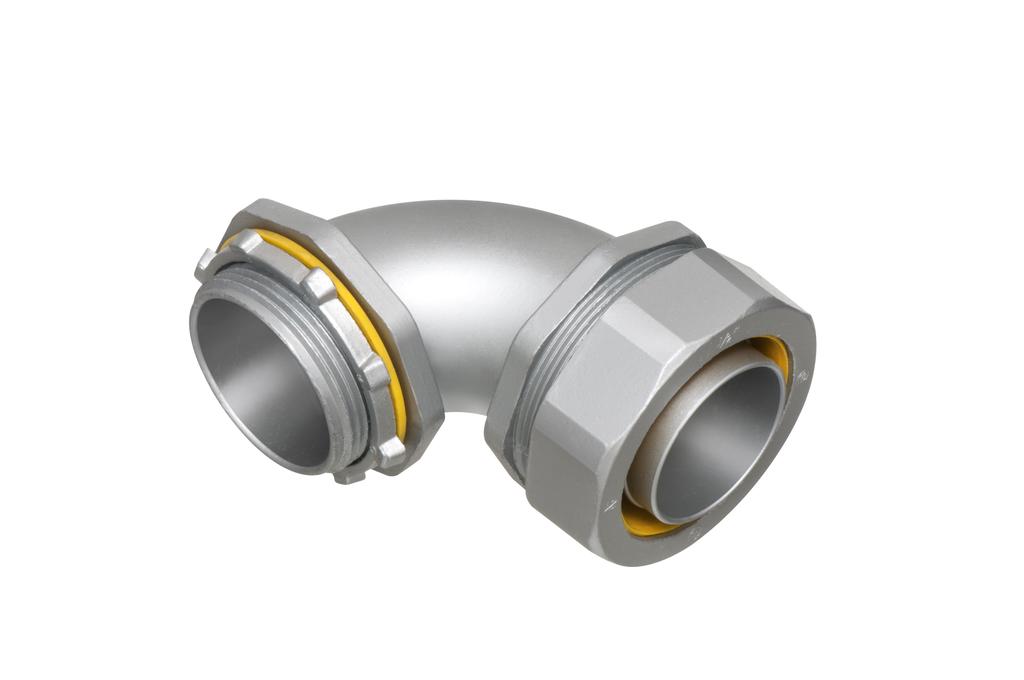 Arlington LT90350 3-1/2 Inch 90 Degree Liquidtight Connector