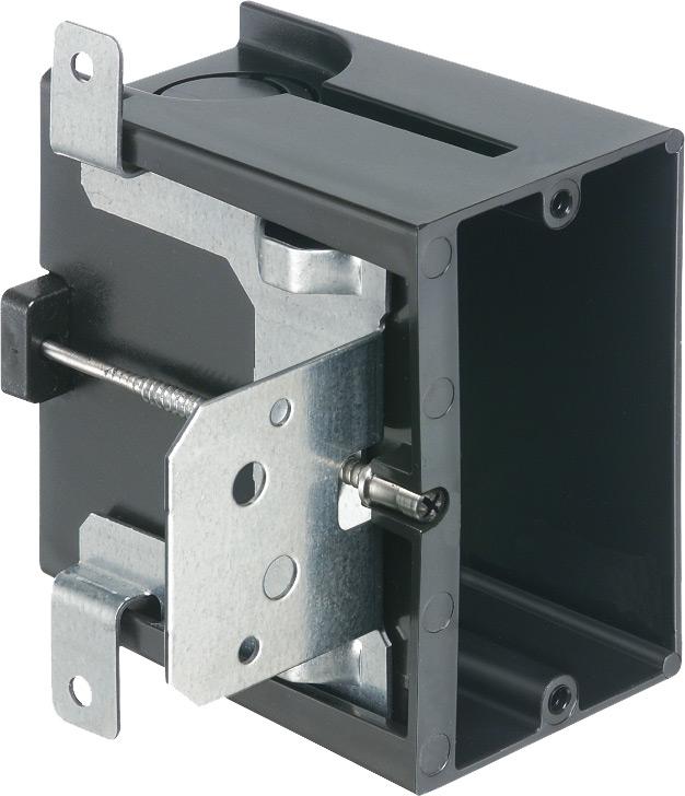 Arlington FA101 1-Gang Screw Mount Adjustable Box