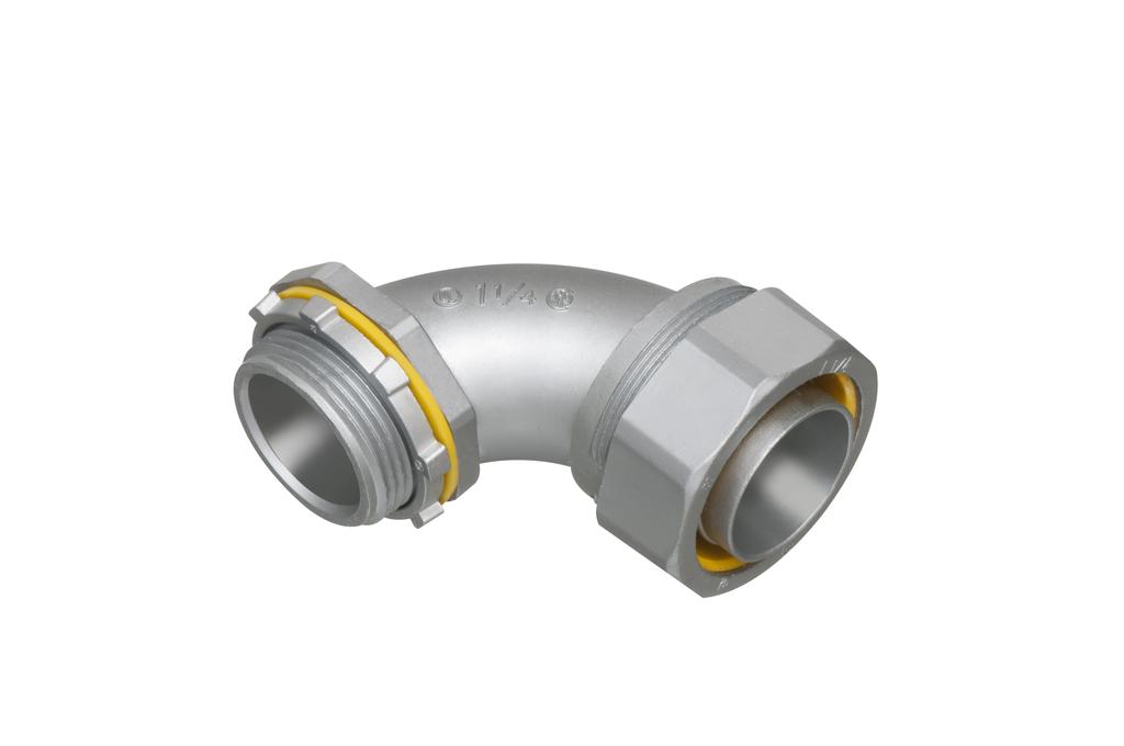 Arlington LT90125 1-1/4 Inch Liquidtight Angle Connector