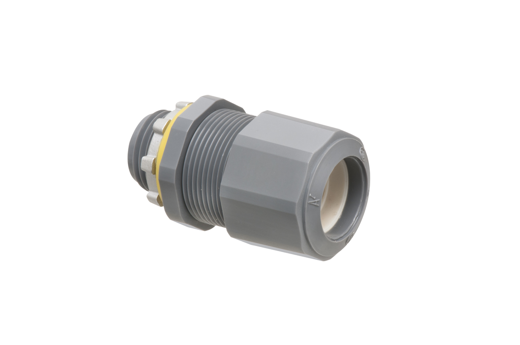 Arlington LPCG507 .385 to .600 Inch Cord Range 1/2 Inch Non-Metallic Coupling