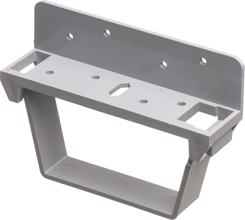Mayer-Joist bracket for Arlingtons T205. To be used on joists. Bracket has hinged opening for easily installing or removing cable.-1