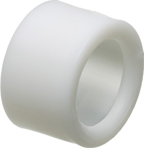 "Mayer-EMT Insulating bushing, press fit, holds firmly in place while pulling cables. Trade Size 3/4""-1"