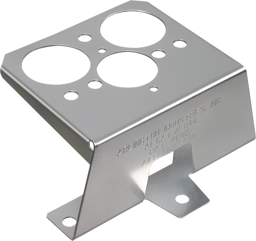 Steel Stand-Off Bracket (20 Gauge Steel)