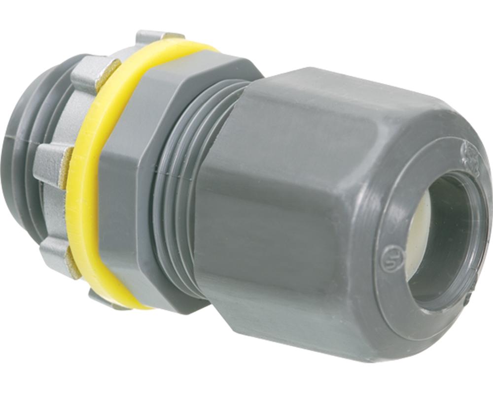 Arlington LPCG503 .100 to .300 Inch Cord Range 1/2 Inch Non-Metallic Coupling