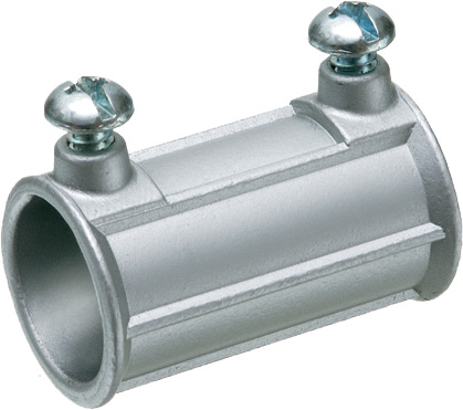 """Mayer-1/2"""" Zinc die-cast. For use with steel and aluminum EMT, IMC and rigid conduit. Concrete tight.-1"""