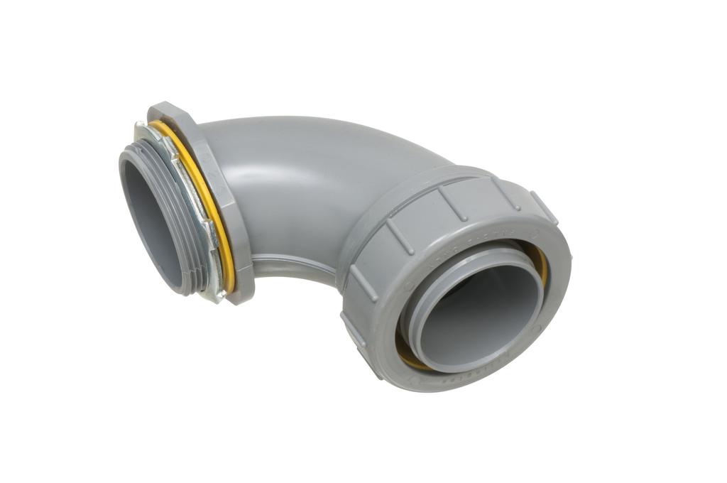 Arlington NMLT90200 2 Inch PVC Liquidtight 90 Degree Connector