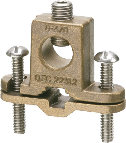 Arlington 718DB Ground Rod Clamp