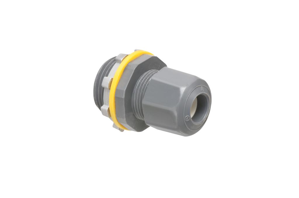 Arlington LPCG754 .200 to .472 Inch Cord Range 3/4 Inch Non-Metallic Coupling