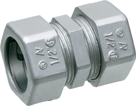Arlington 831 3/4 Inch EMT Compression Coupling