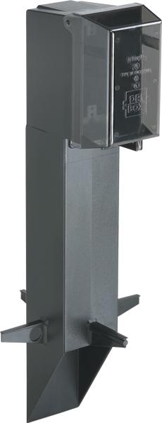 Arlington GPD19B Gard-N-Post™ Enclosure w/ Weatherproof-in-Use Cover