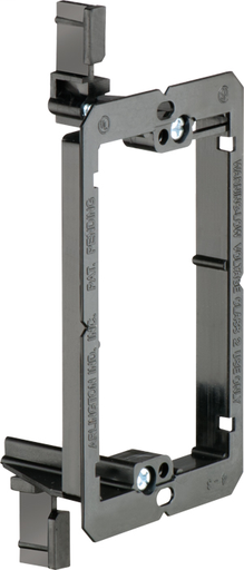 Low Voltage mounting bracket, single gang for installation on existing construction for class 2 wiring only. (ARL LV1 1GANG LOW VOLTAGE BRKT OLD)