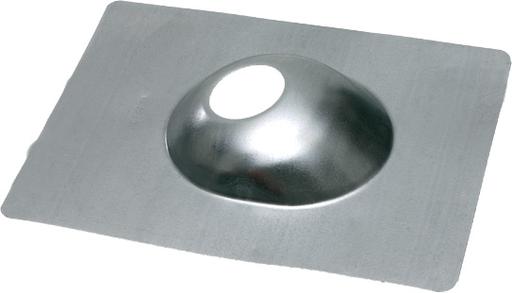 "Mayer-2"" Galvanized roof flashing, 22 gauge with neoprene seal.-1"