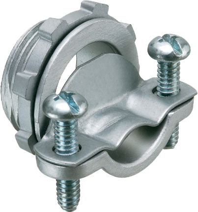 "Mayer-1"" Knockout handles up to 3 NM cables and service entrance cables. 2 Screw clamp type.-1"