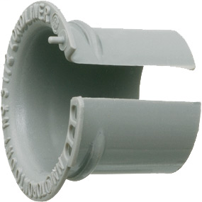 """Mayer-1"""" Throat Liner, To be installed into fittings after conduit, after fitting and wire are in place. Non-Metallic.-1"""