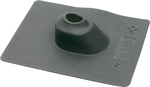 "3"" Neporene Roof flashing, one peice design. Black"