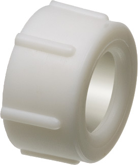 "Push On Insulating bushing for rigid IMC and Rigid PVC. Trade Size 3/4"". Listed for use in enviormental air handling spaces."