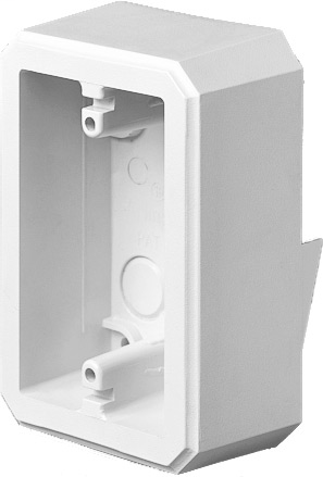 Mayer-Weatherproof device box, one peice construction. Installs on flat surfaces. 18.6 cu. in.-1