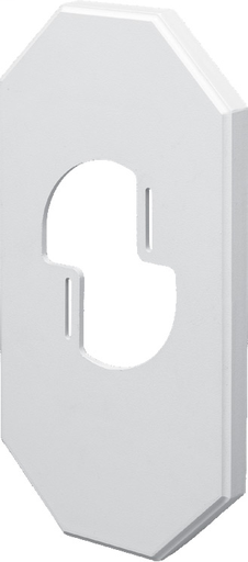 """Accomidates light fixtures with mounting bracket up to 12"""". 13-1/2 x 7.21 mounting surface.For use with Arlington siding blocks part numbers 8131, 8141, 8151, 8161, 8171, 8141DBL."""