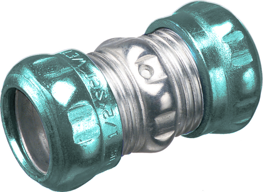 "Steel EMT compression coupling. Concrete tight and rain tight. Trade Size 2-1/2""."