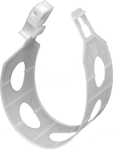 """Mayer-Arlingtons The Loop. Hanger for communications cable, fiver optic cable and any low voltage cable. Versatile mounting, rotates to any angle. Can be stacked perpendicular or parallel. Loop size is 5"""". Listed for use in enviornmental in use spaces.-1"""