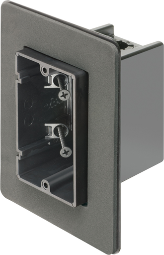 Oe Box Vapor Boxes for Devices. Flange forms a protective barrier against air infiltration. 2 Hour Fire Rating. Single Gang. Screw On. 22 cu.