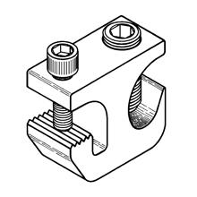 Mayer-GROUNDING CLAMP, TIN PLATED ALUMINUM-1