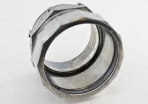 Connector, Compression, Zinc Die Cast, Size 3 Inch