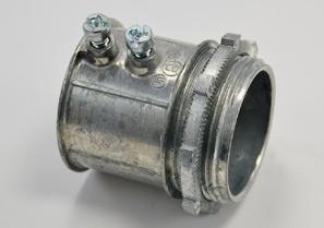 Connector, Set Screw, Zinc Die Cast, Size 1-1/2 Inch