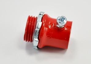 "Mayer-1/2"" Fire Alarm EMT connector, steel.-1"