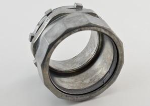 Connector, Compression, Zinc Die Cast, Size 2 1/2 Inch