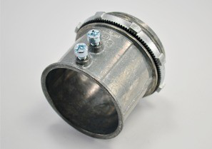 Connector, Set Screw, Zinc Die Cast, Size 2 Inch