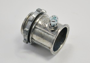 Connector, Set Screw, Zinc Die Cast, Size 3/4 Inch