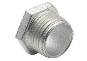 Mayer-Nipple, Conduit, Malleable Iron, Size 1/2 Inch-1