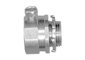 "1-1/4"" Malleable Iron Rigid Set Screw Connector"