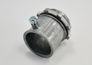 Connector, Set Screw, Zinc Die Cast, Size 1 Inch