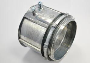 Connector, Set Screw, Zinc Die Cast, Size 3-1/2 Inch