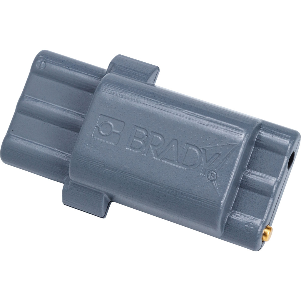 BRADY WIREMARKERS BMP21-PLUS Rechargeable Li-ION Battery Pack, Gray