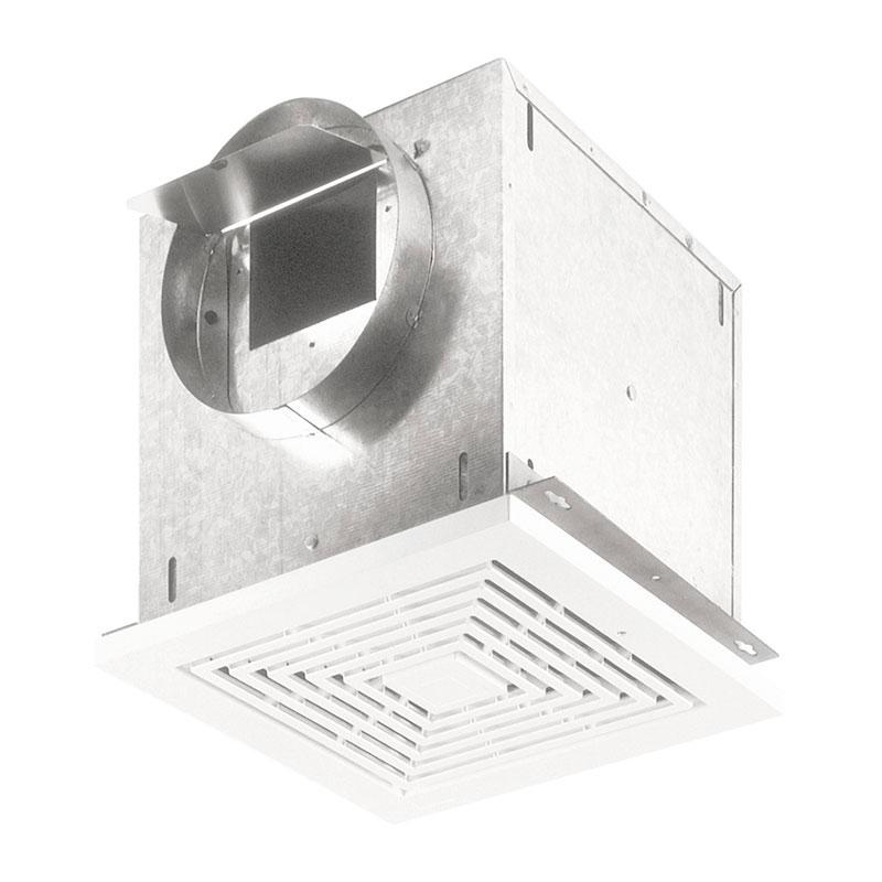 Broan L150 1.3 Amp 120 Volt 157 CFM 1.5 Sones 14 Inch Grille Galvanized Steel Ventilation Fan