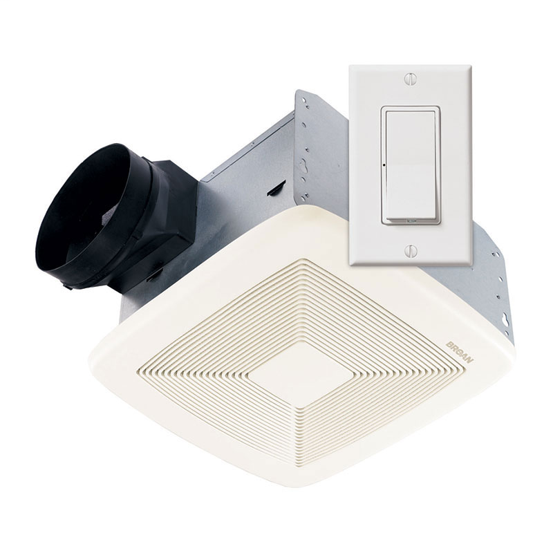 Broan SSQTXE110 120 VAC 110 CFM Smartsense Ventilation System