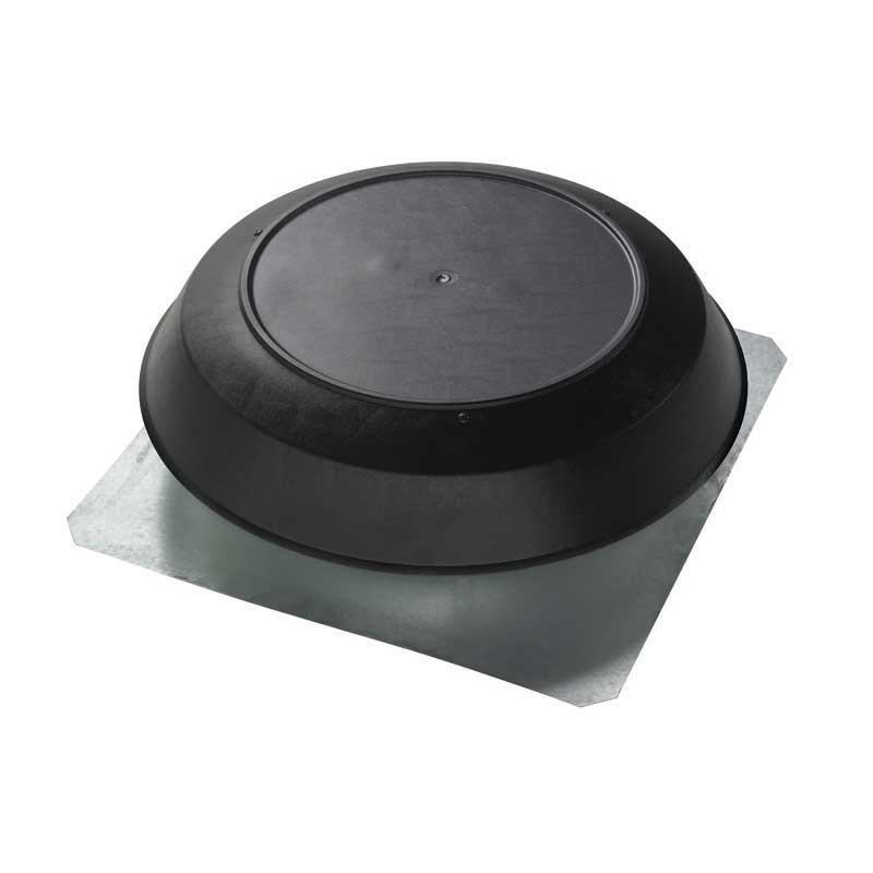 Broan 356BK 1600 CFM 22-1/4 x 23-1/4 x 8 Inch Attic Ventilator