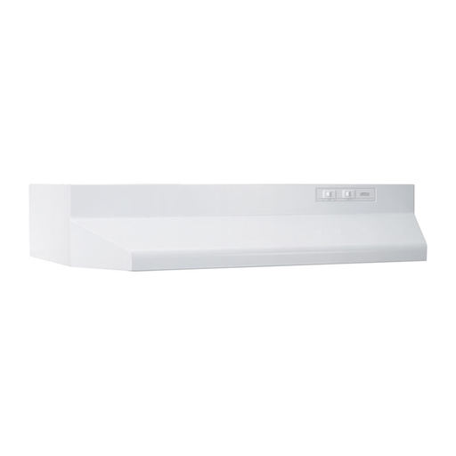 BROAN 412101 21-IN WHITE RANGE HOOD