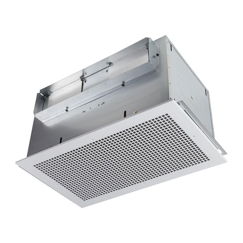 Broan L400 1.4 Amp 120 Volt 434 CFM 2.3 Sones 23-1/4 x 14 Inch Grill Size Galvanized Steel Ventilation Fan