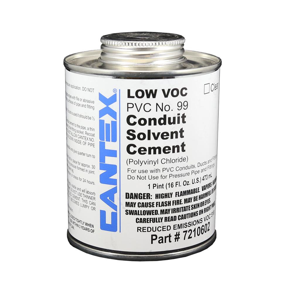1 Pt. PVC Low VOC Cement #99