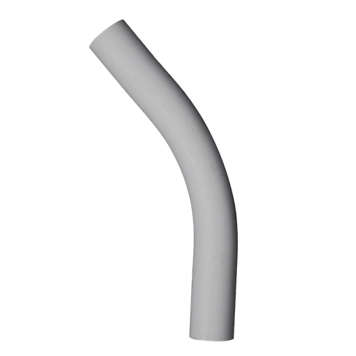 "PVC 3/4"" 45deg Conduit Elbow, Plain End"