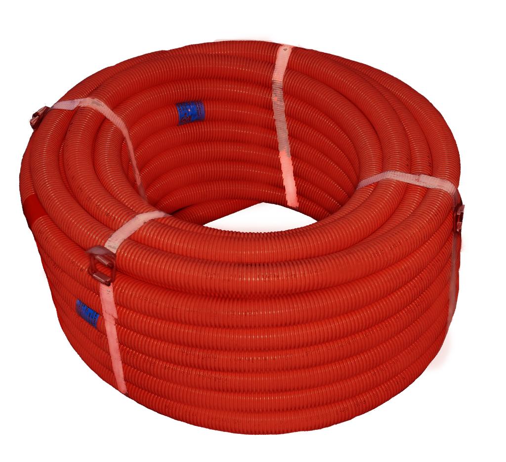 1 in. x 100 ft. coilRed EZ-Flex Flexible ENT Electrical Nonmetallic Tubing
