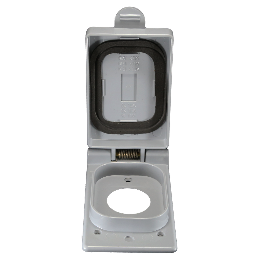 1-Gang 50 Amp Weatherproof Receptacle Cover