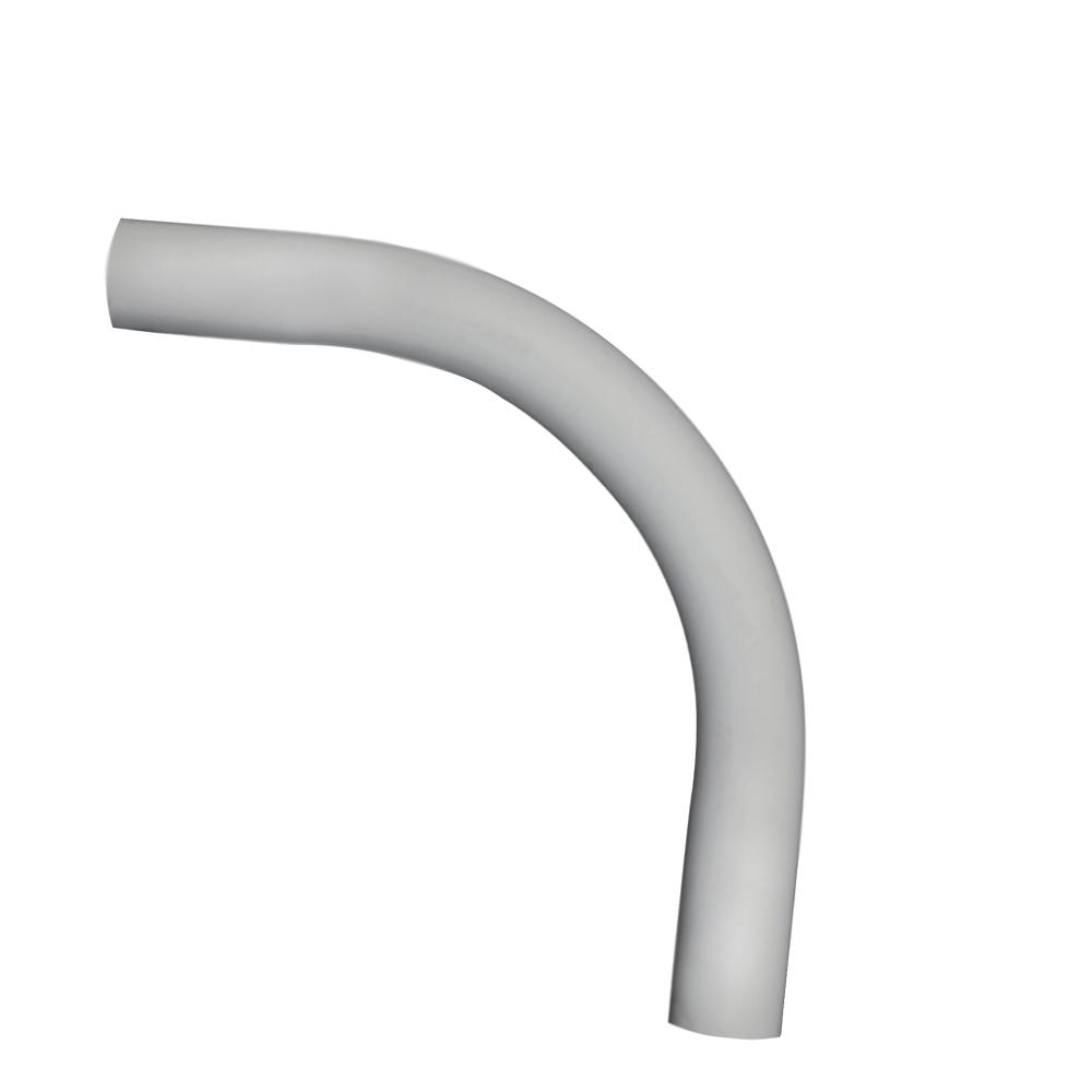 1 in. x 90-Degree Plain End Schedule 80 Standard Radius Elbow