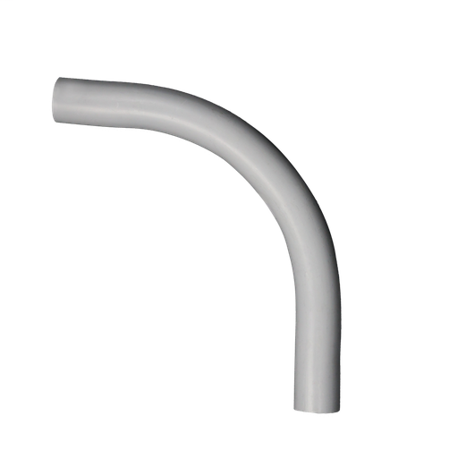 "PVC 2-1/2"" 90deg Conduit Elbow, Plain End"